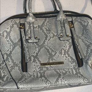 Gianni Bini Snake print satchel